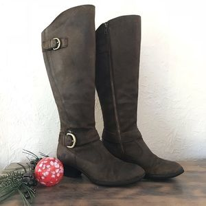 Born Leather Riding Boot Women's 9